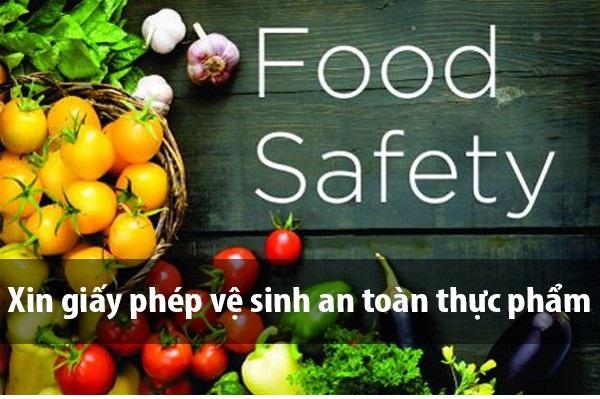 dịch vụ làm giấy phép an toàn thực phẩm quận Gò Vấp