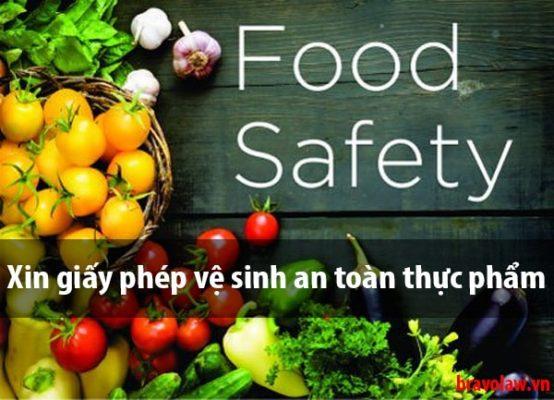 Hướng dẫn xin giấy vệ sinh an toàn thực phẩm tại Phú Nhuận