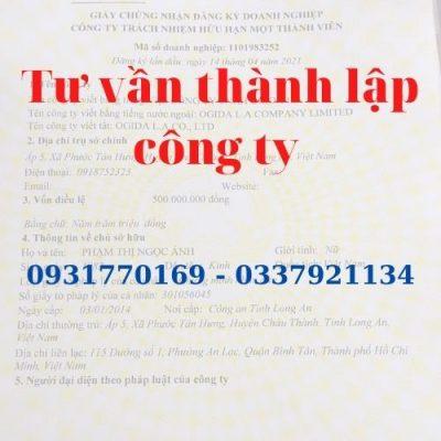 Dịch vụ thay đổi giấy phép kinh doanh ở TpHCM